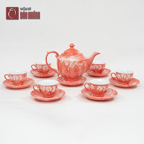 bộ tách trà sứ cao cấp phù hợp không gian